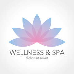 Logo Design Wellness Spa Beauty