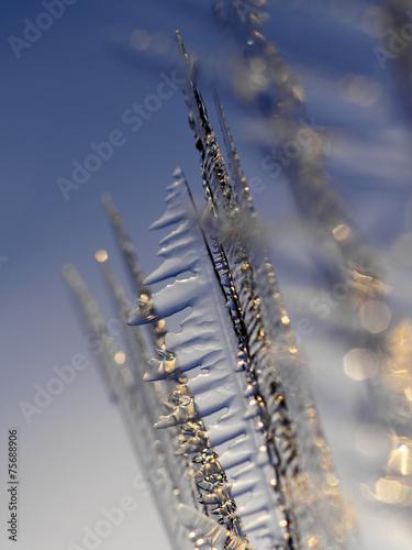 canvas print picture Bizarre Eisstruktur