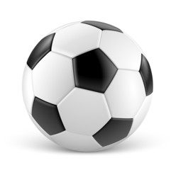 Ballon de football vectoriel 1