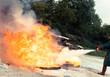 Leinwandbild Motiv securité incendie flamme