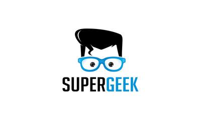 Super Geek Logo
