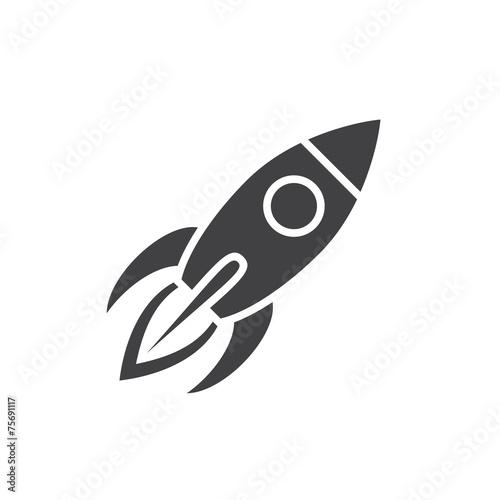 Rocket icon - 75691117