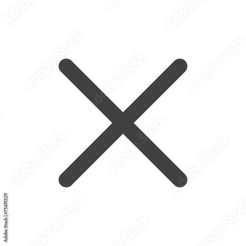 Close or delete icon - 75691329