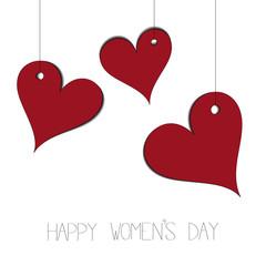 Happy women's day vector