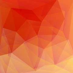 Red and orange crystal vector abstract background