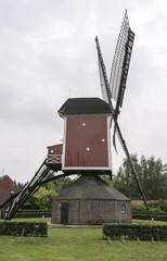 dutch mill in heel limburg