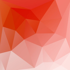 Light orange vector abstract polygonal background - eps10