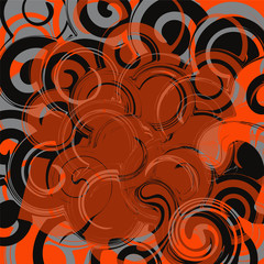 abstarct swirl background. vector pattern