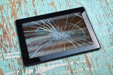Broken Tablet