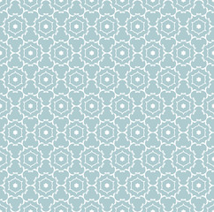 Vector Seamless Geometric Retro Pattern