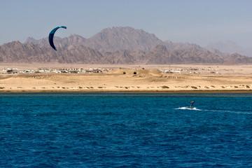 Kitesurfing in Egypt