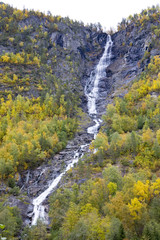 landscape near Borgund Stavkirke, Norway