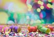 canvas print picture - Luftschlangen Konfetti Party