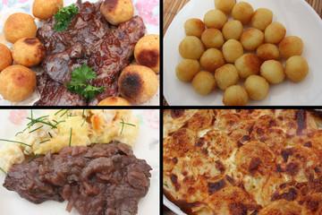 Bavette et Onglet  - Gratin de pommes de terre