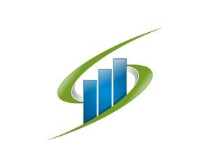 Chart Bar Logo v.14