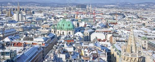 Papiers peints Vienne wien im schnee