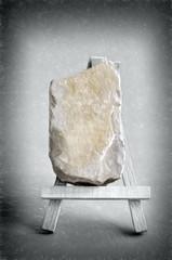 boulder art  - illustration based on own photo image