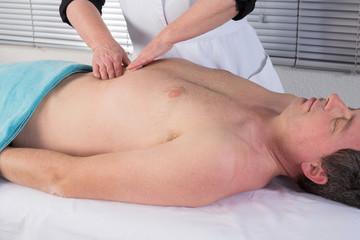 Massage viscéraux