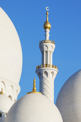 Part of famous Sheikh Zayed Grand Mosque