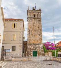 Supetar old clock tower Leroj