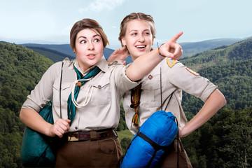 Scout tour