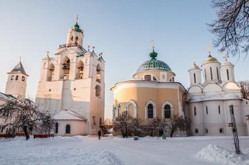 The Spaso-Preobrazhensky monastery in Yaroslavl