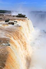 Iguazu Falls - Garganta del Diablo waterfall