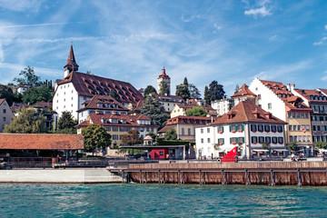 Beautiful landscape Luzern. Switzerland.