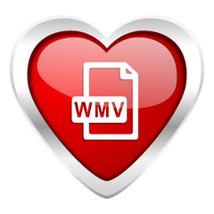 wmv file valentine icon