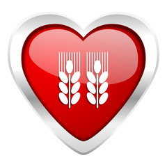 agricultural valentine icon
