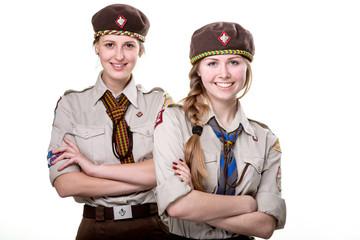 Scouts in studio