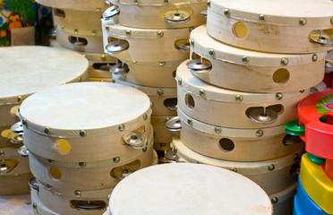 Tambourines stall