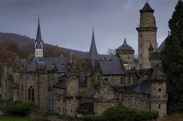 Die Löwenburg in Kassel Nordhessen