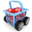 Einkaufskorb mobil Rabatt