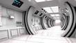 Futuristic interior SCIFI - 75703964