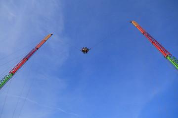 コニーアイランドの逆バンジージャンプジャンプ