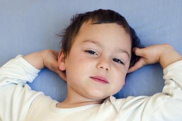 Sleepy or waking child