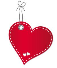 Herz-Anhänger, Vektor