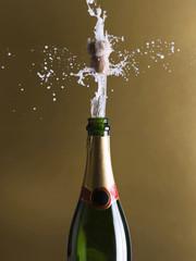 Champagne. Celebration still life