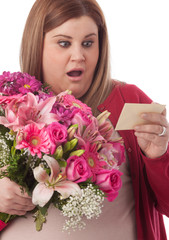 Surprised by flowers