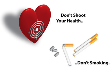 Sigaretta proiettile - Slogan