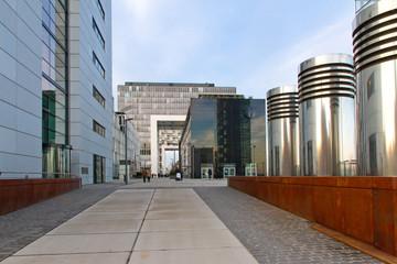 Moderne Architektur in Köln - Zollhafen