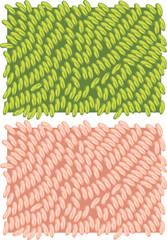 Fragment of a carpet texture