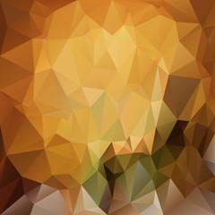 vector polygonal background triangular brown, yellow, beige