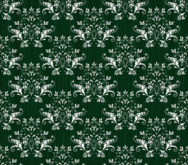 Baroque Seamless Pattern.