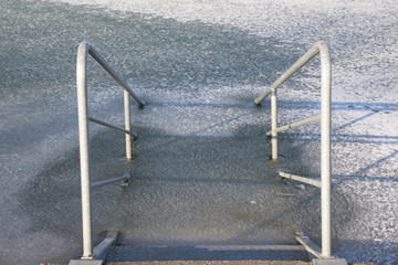 Stairs Into Ice