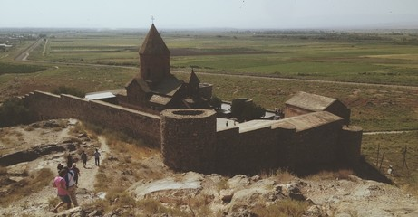 church near the border