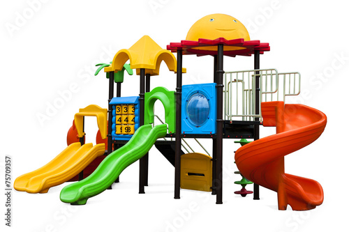 playground for children of preschool age - 75709357