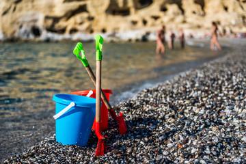 Beach toys for children