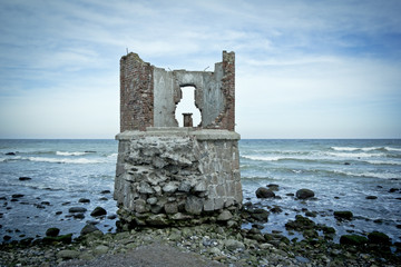 Old Ruin at the Beach